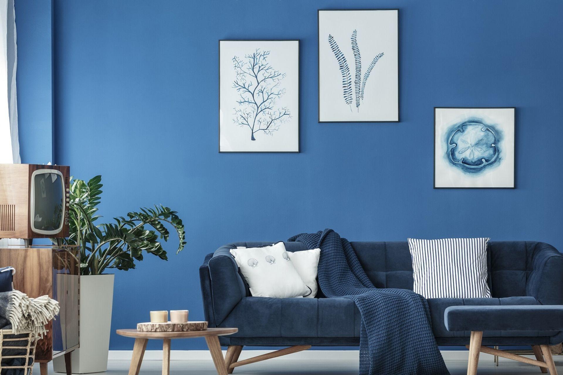 Pantone dell'anno 2020: come valorizzare i tuoi interni con il Classic Blue